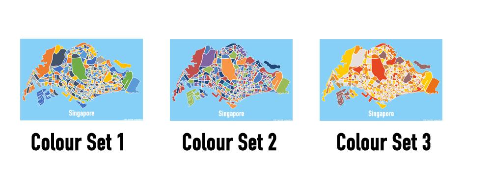 1d5d8e30f Singapore Map Print – Full Colour – Big Red Chilli