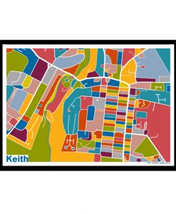 Keith – Keith Map Print – Full Colour