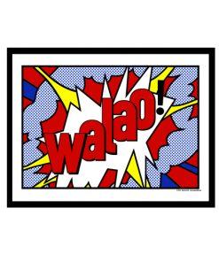Walao! - Singlish Pop Art
