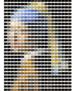 Girl with a Pearl Earring – Pantone Art