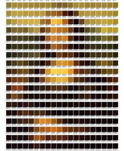 Mona Lisa – Pantone Art
