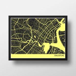 SINGAPORE DOWNTOWN MAP