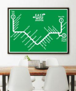 Singapore MRT Green Line
