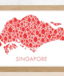 Singapore Durian Map