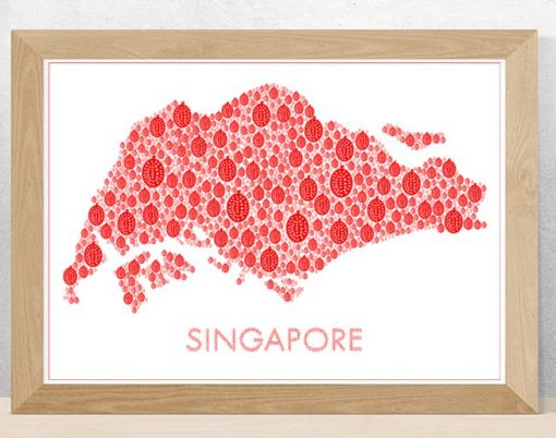 Singapore Durian Map