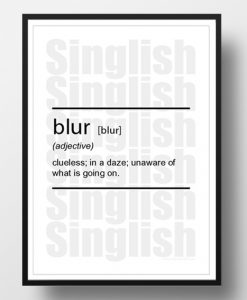 Blur-Singlish-Dictionary