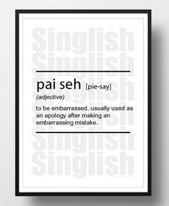 PaiSeh-Singlish-Dictionary