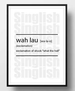 WahLau-Singlish-Dictionary