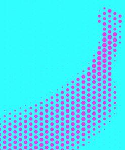 Banana Dot Pop Art
