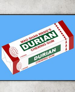 Durian Chewing Gum