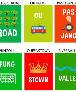 Singapore Fun Pun Card Set
