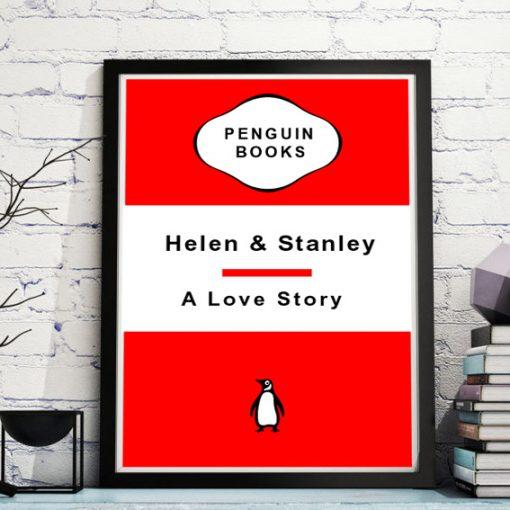 Vintage Penguin Book Cover
