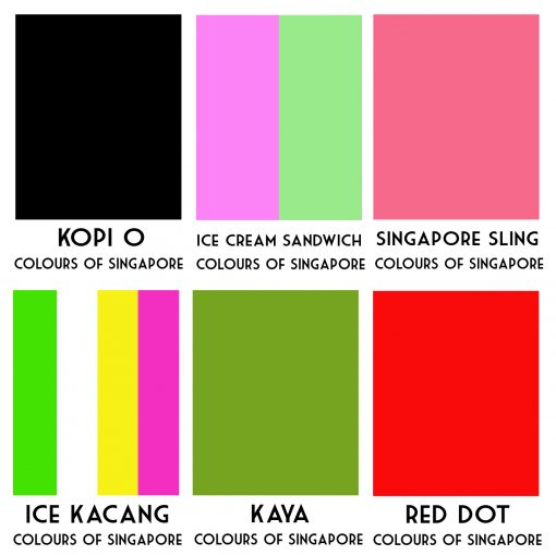 Colours of Singapore Cards