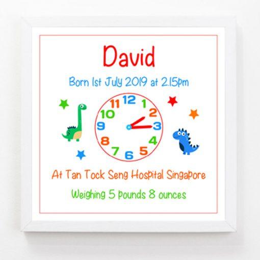 Baby Clock Print