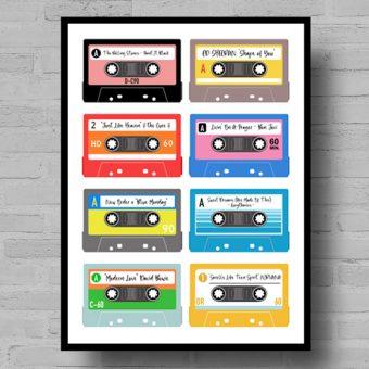 Personalised Cassette Playlist