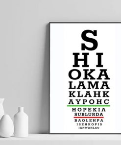 Singapore Eye Test