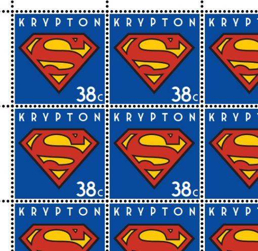 Superhero Stamp Print